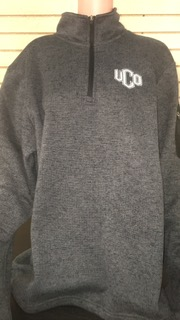 Heathered Fleece Pullover