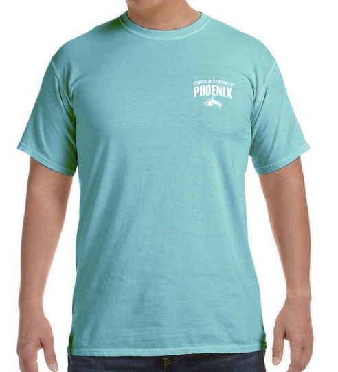 Cumberland University Phoenix Comfort Colors Tshirt