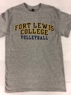 Fort Lewis College Volleyball S/S Tee