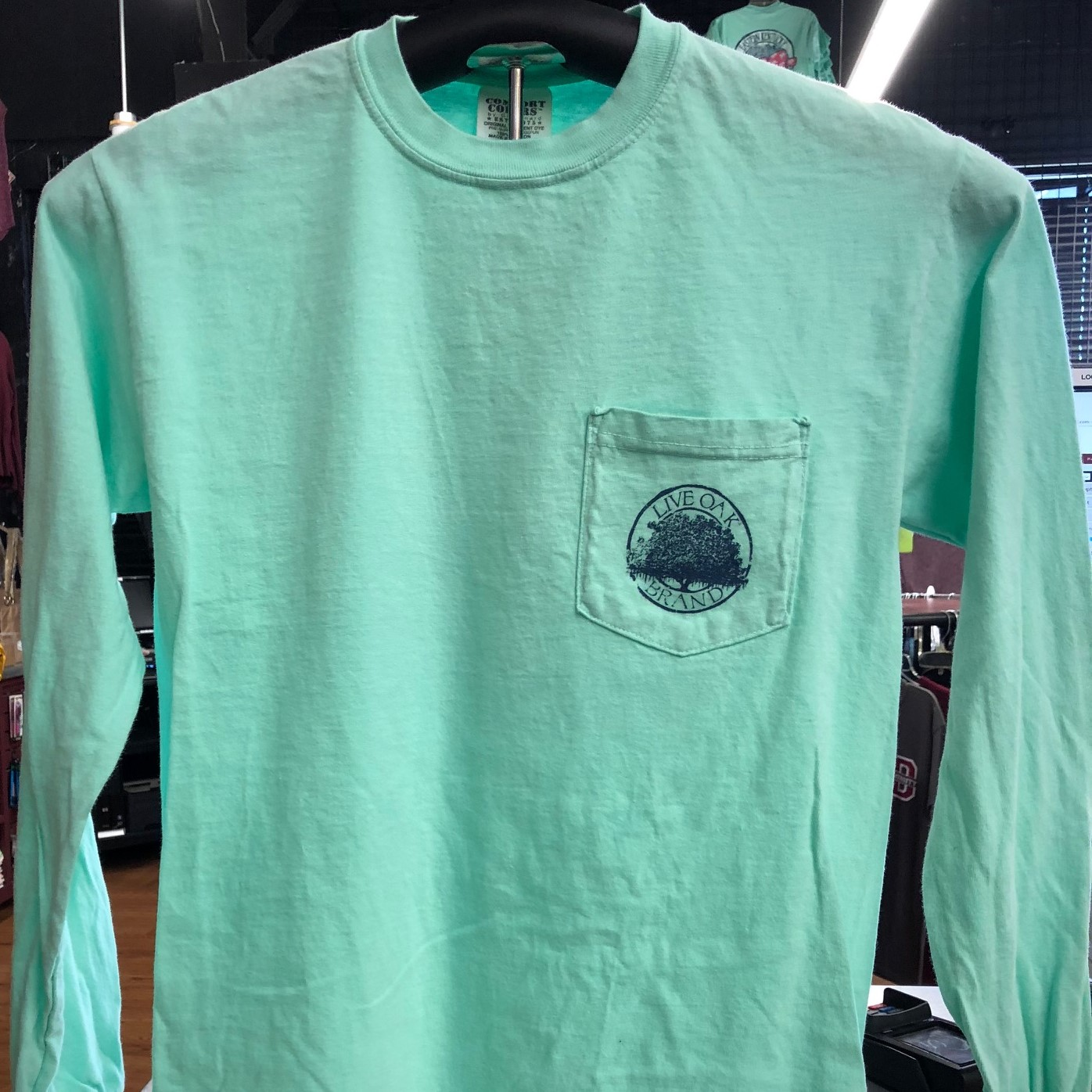 COMFORT COLORS LIVE OAK BRAND L/S
