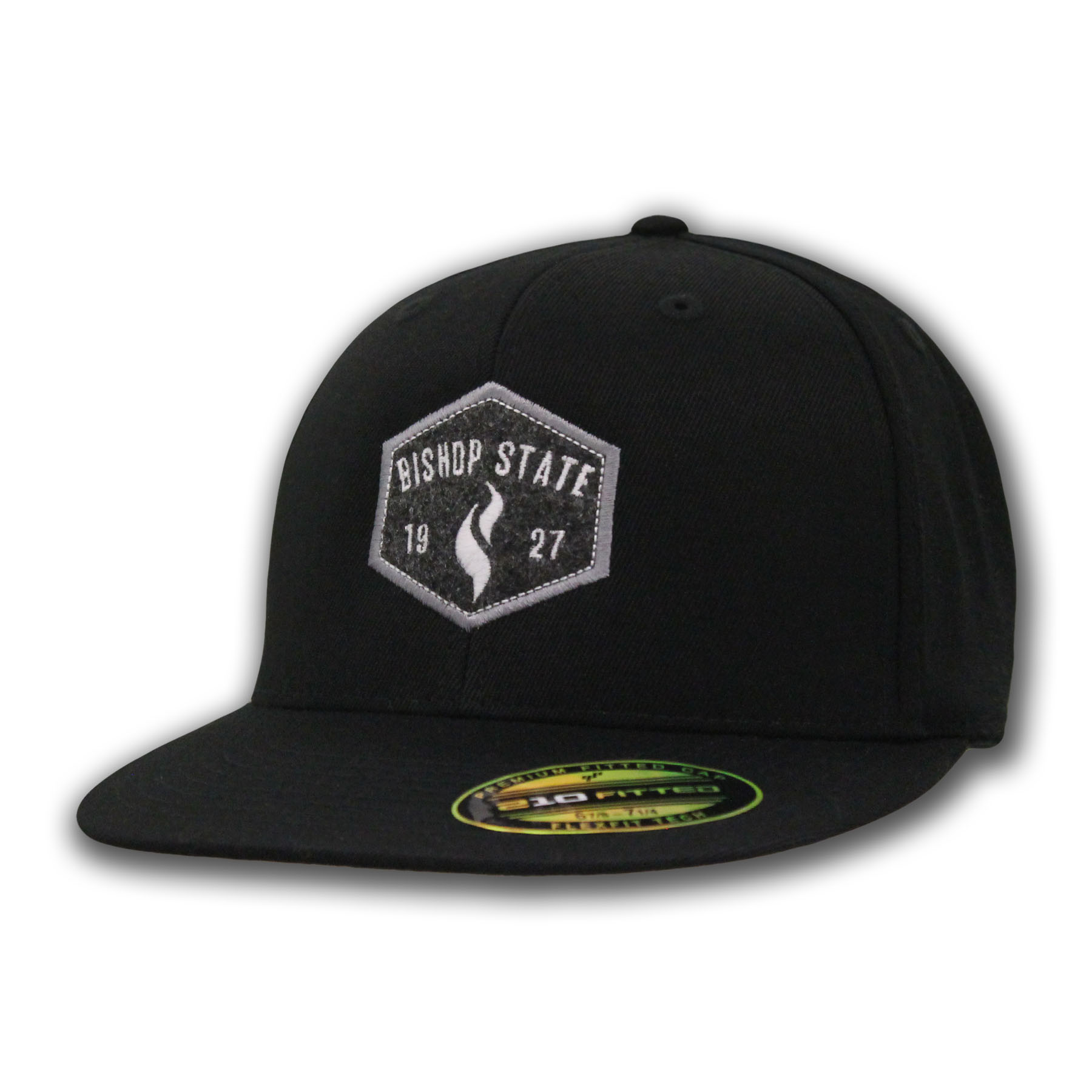 Bishop State Flat Bib Cap