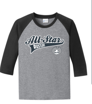 All-Star Baseball 3/4 Sleeve Shirt