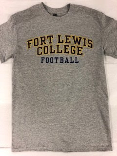 Fort Lewis College Football S/S Tee