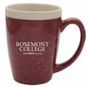 Maroon Speckled Mug