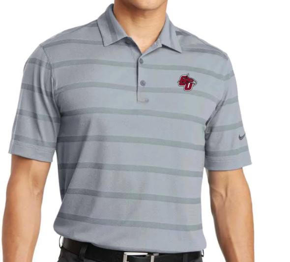 CU Striped Nike Polo
