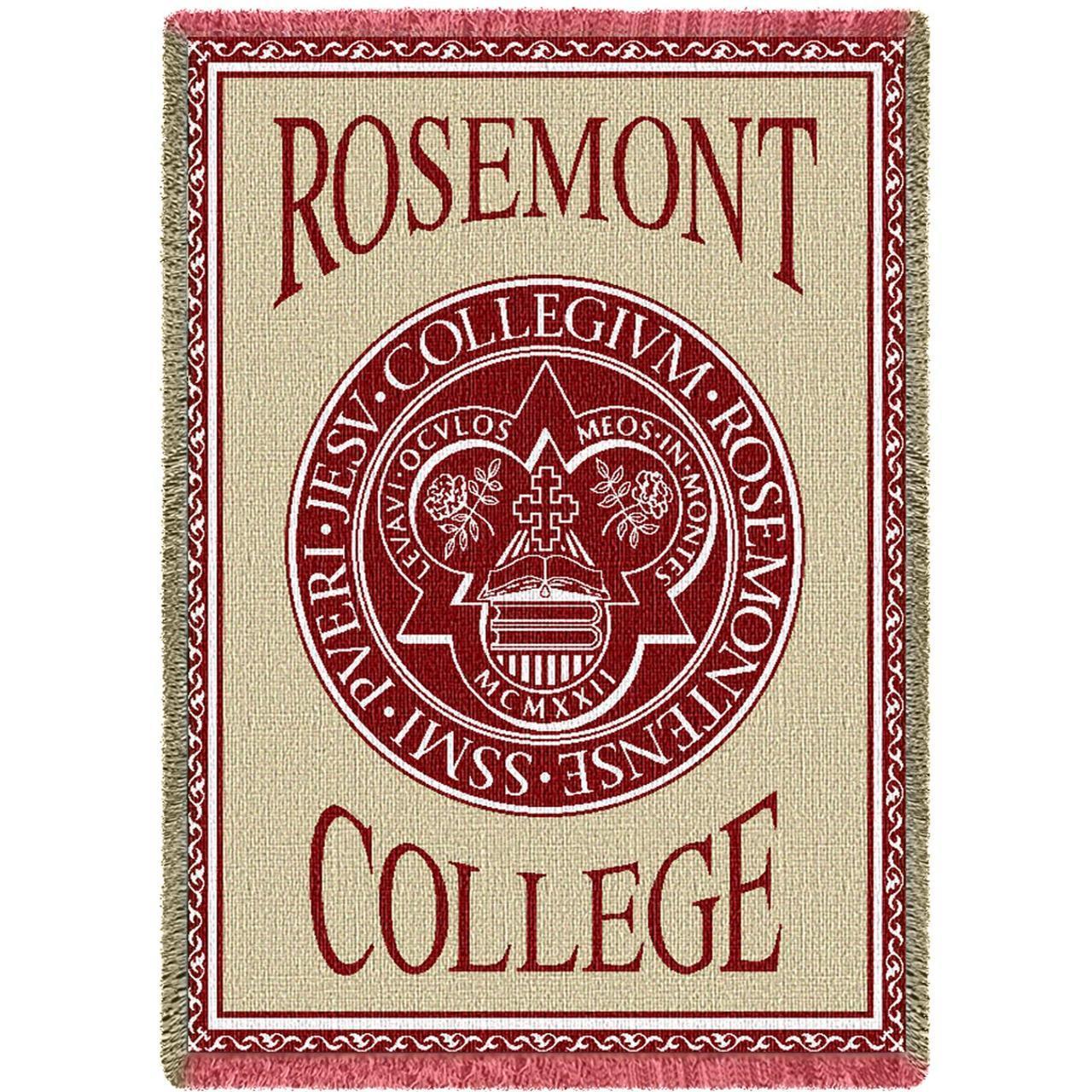 Woven Rosemont Seal Blanket