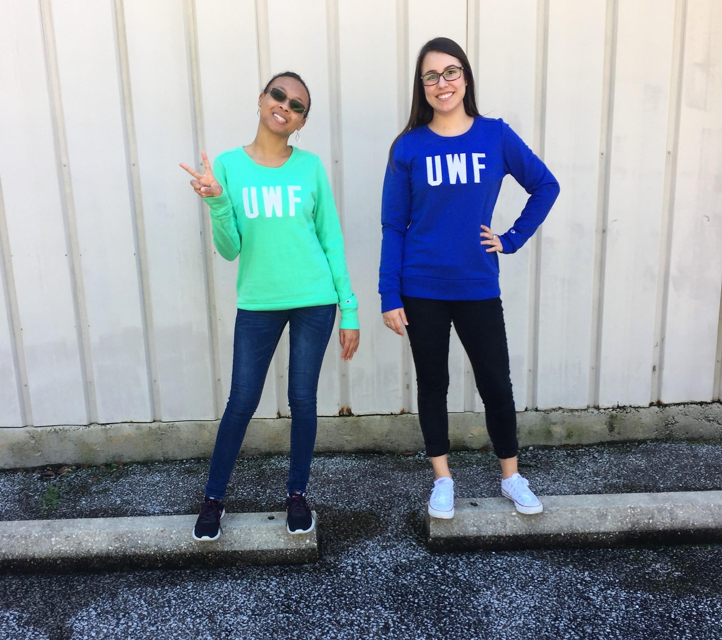 UWF CREW SWEATSHIRT