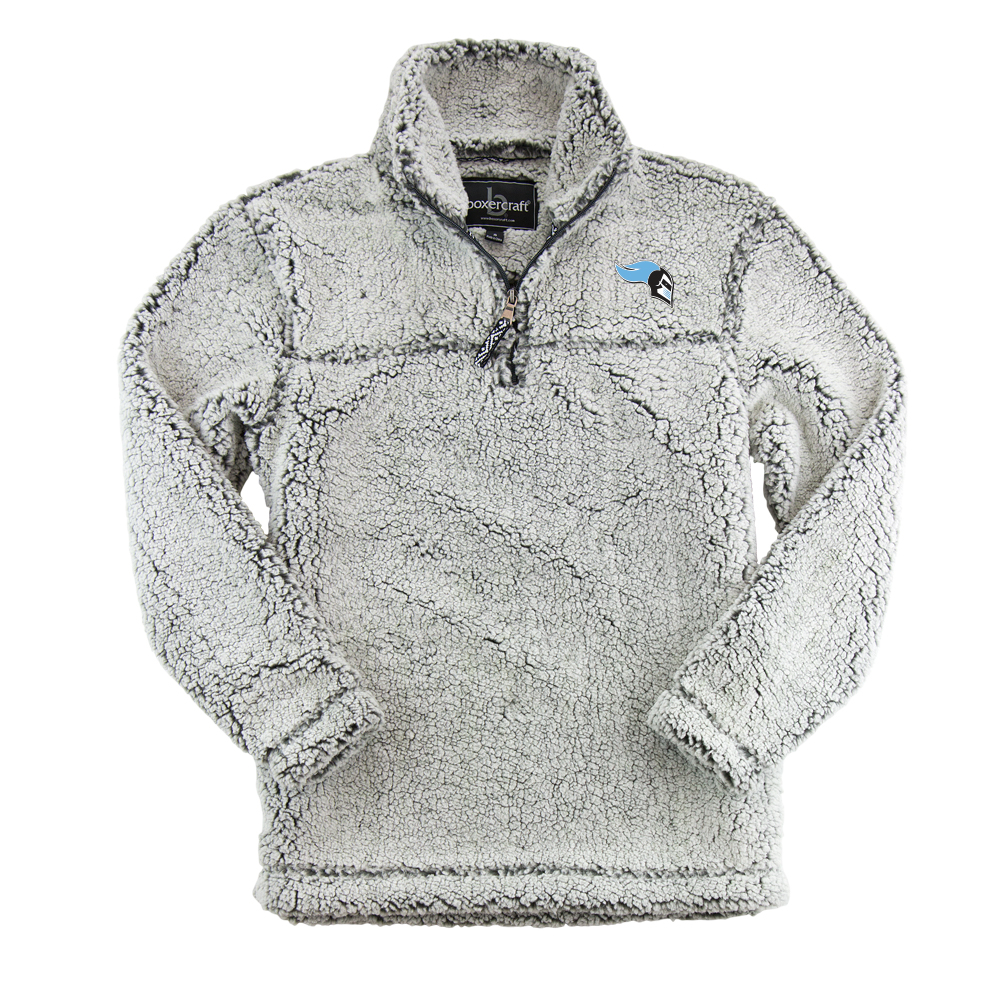 Sherpa 1/4 Zip - Smokey Grey