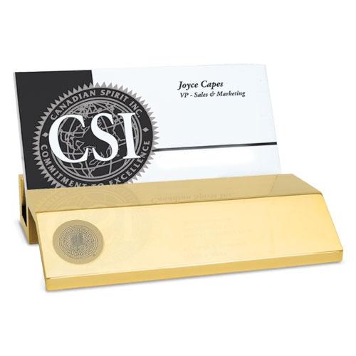 Desktop Business Card Holder