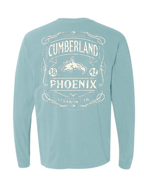 Cumberland Phoenix 1842 Comfort Colors Long Sleeve Shirt