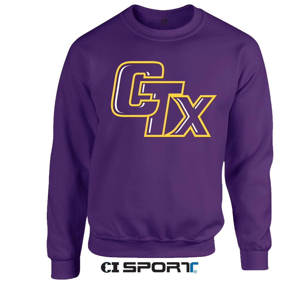 CTX Crewneck Sweatshirt - Purple