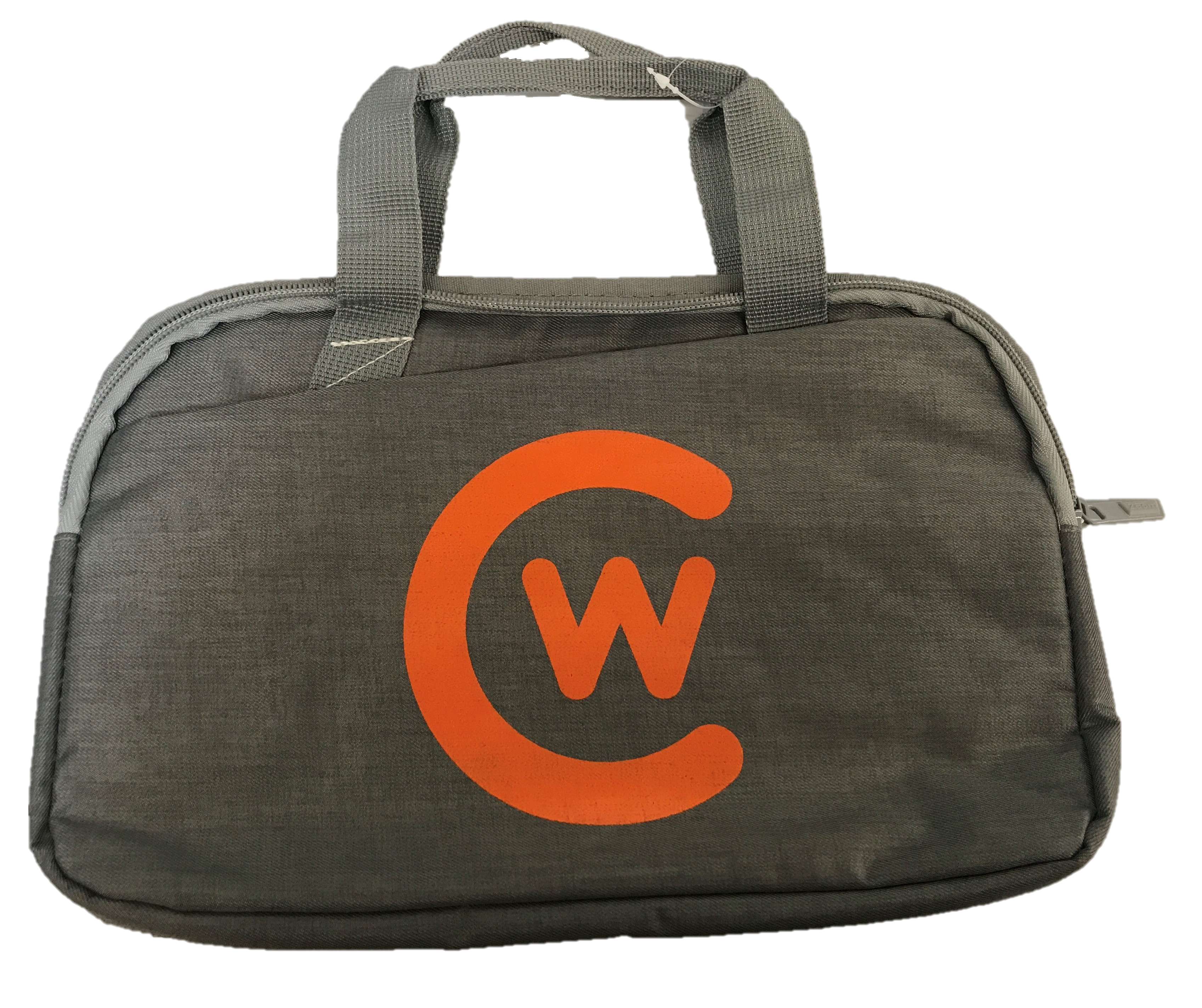 Gray CW Logo Tablet Sleeve
