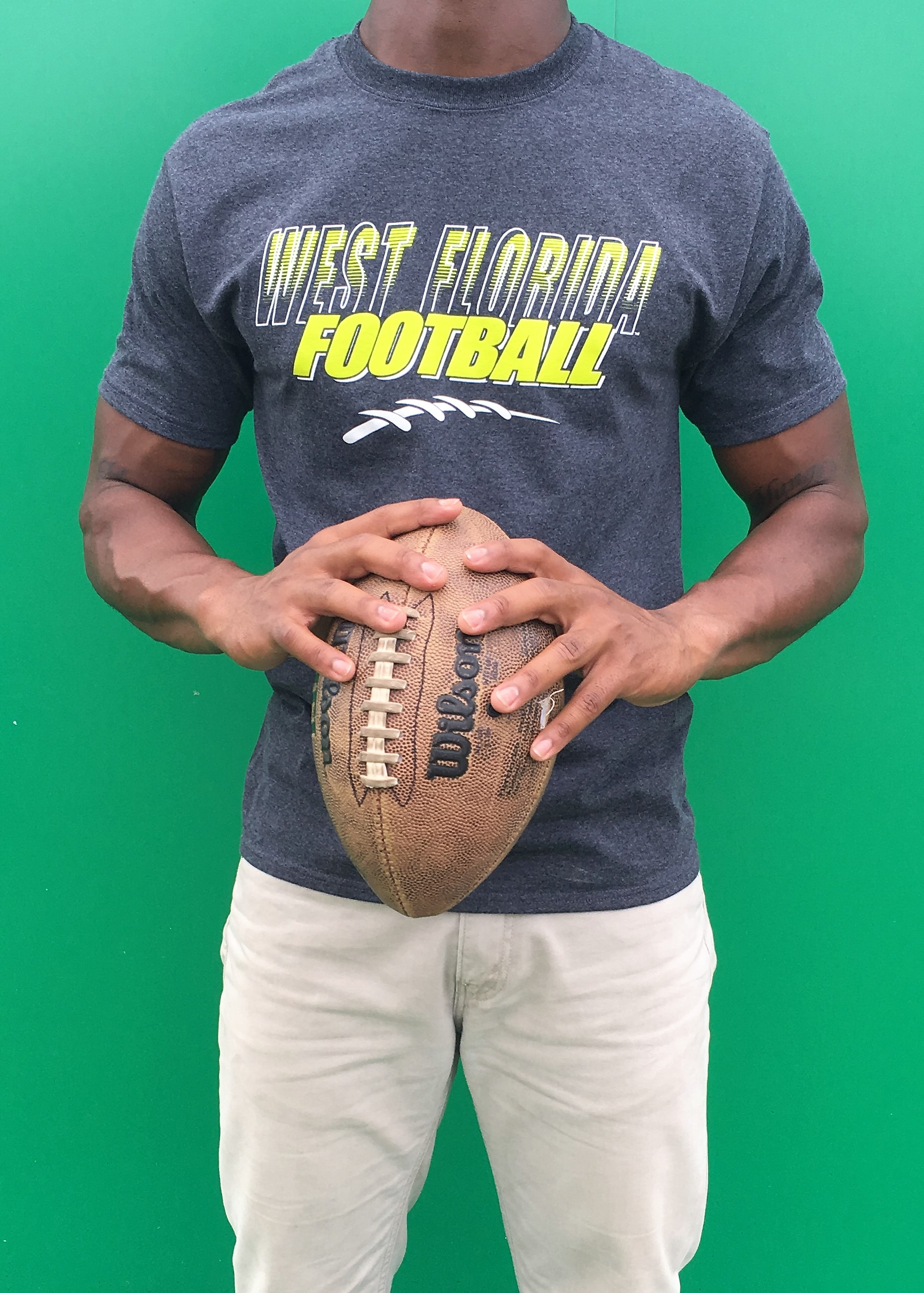 NEON YELLOW WEST FLORIDA FOOTBALL
