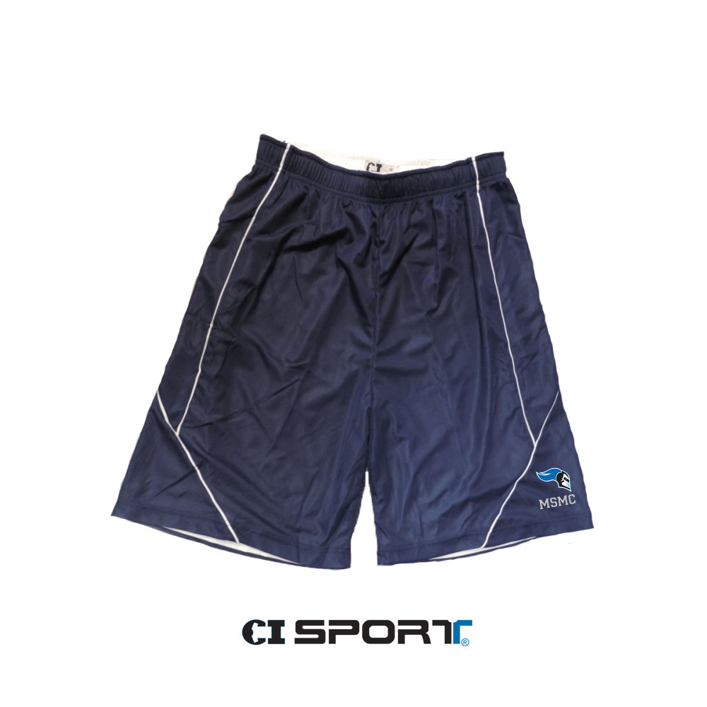 Reversible Short - Navy/White