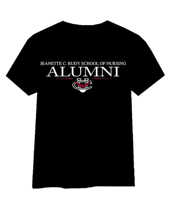 Jeanette C. Rudy School of Nursing Alumni Tshirt