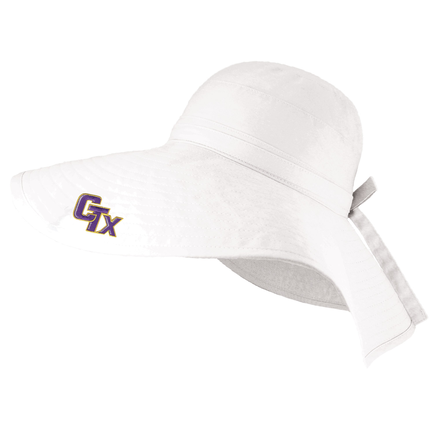 LogoFit - Bucket Women's Hat - White
