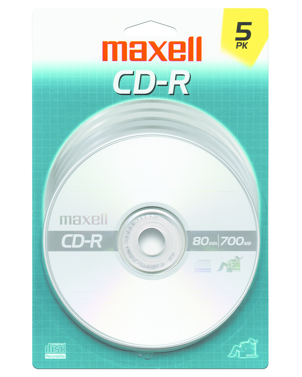 Maxell 700 mb CD-R 5 Pack