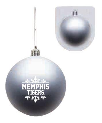 Shatterproof Ornament - Silver