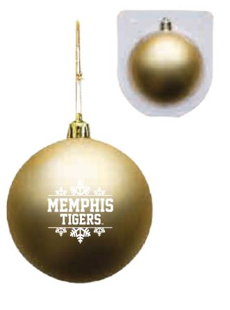 Shatterproof Ornament - Gold