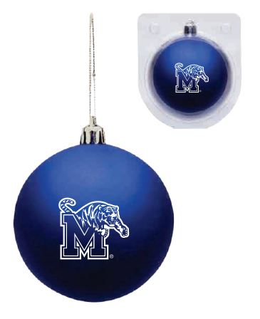 Shatterproof Ornament - Blue-Tiger