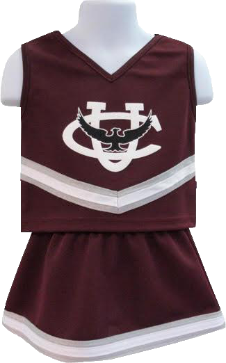 CU Youth Cheerleader Outfit