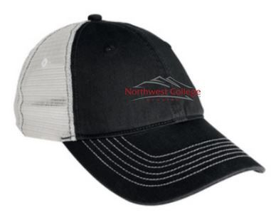 Distressted Traditional Logo Hat