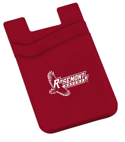 Rosemont Ravens Adhesive Phone Wallet
