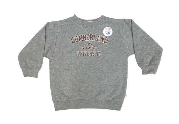 Youth Cumberland University Crewneck Sweatshirt