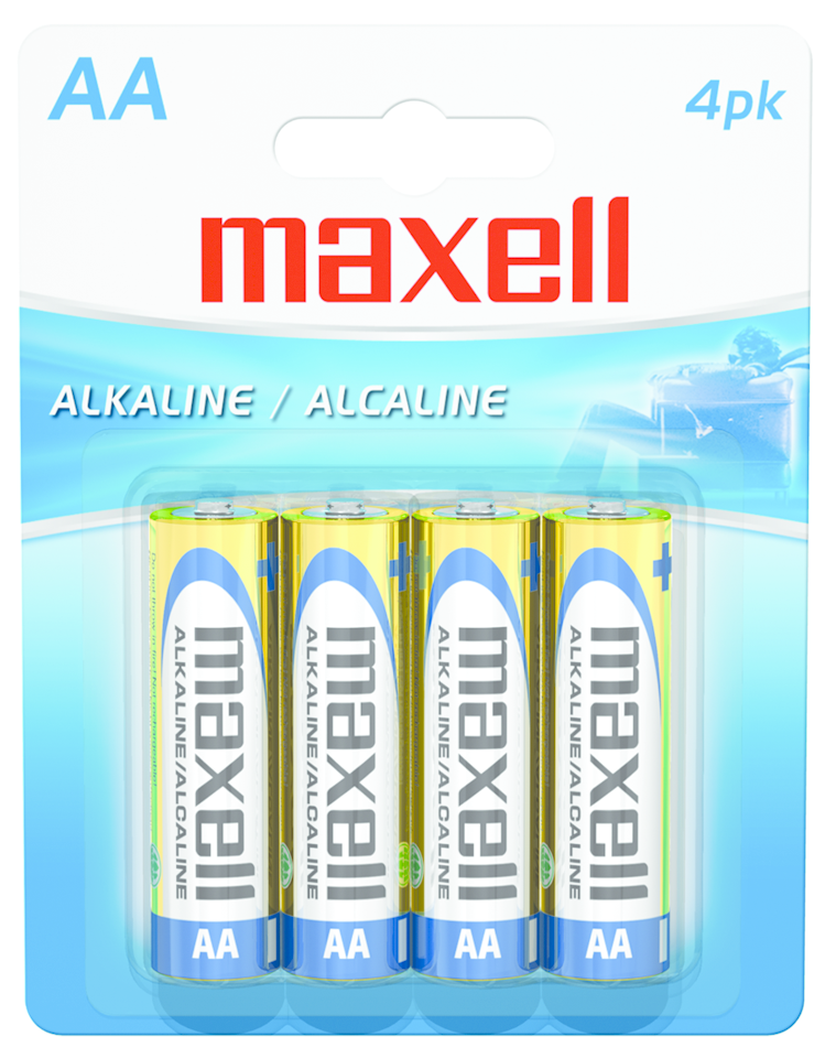 MAXWELL AA BATTERIES 4 PACK