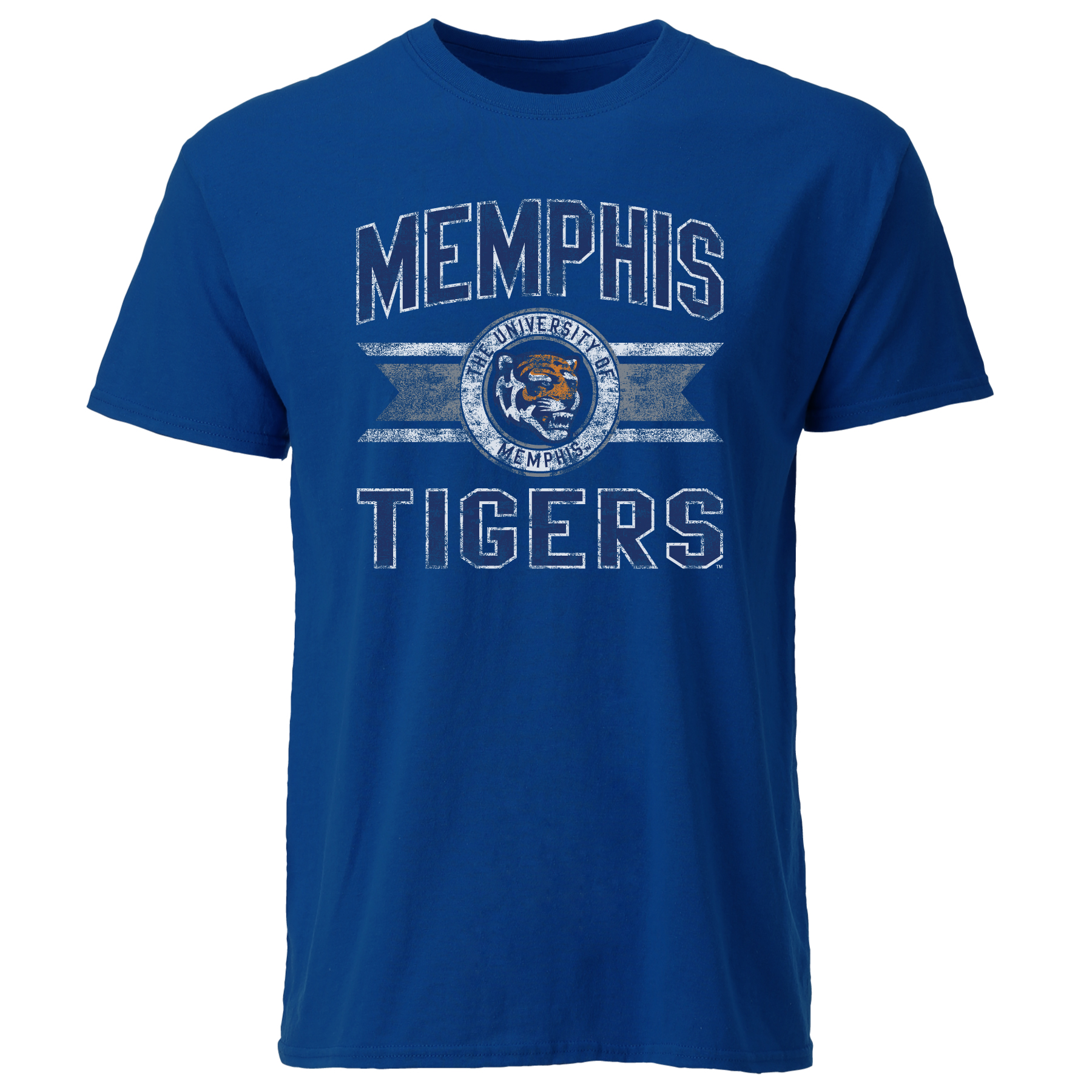 The University of Memphis Tigers Ribbon Emblem
