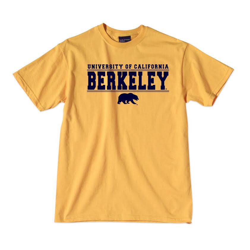 Cal Bears School Name & Bear Tee