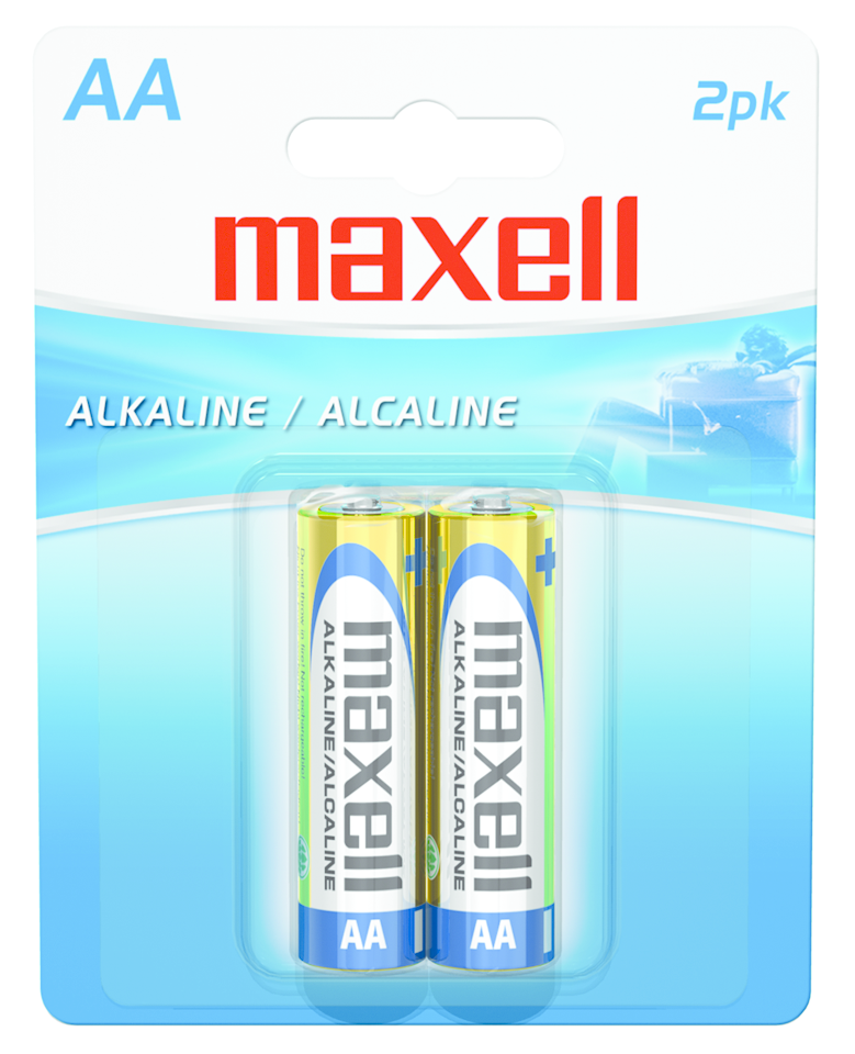 MAXWELL AA BATTERIES PACK OF 2