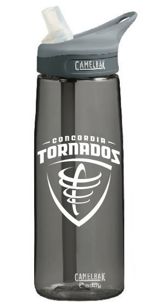 Eddy CamelBak 25 oz. Mascot Water Bottle - Charcoal