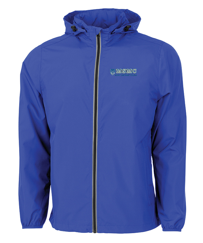 Full Zip Windbreaker - Royal
