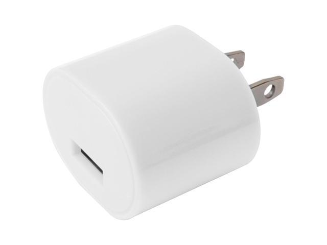 1 AMP USB WALL CHARGER WHITE