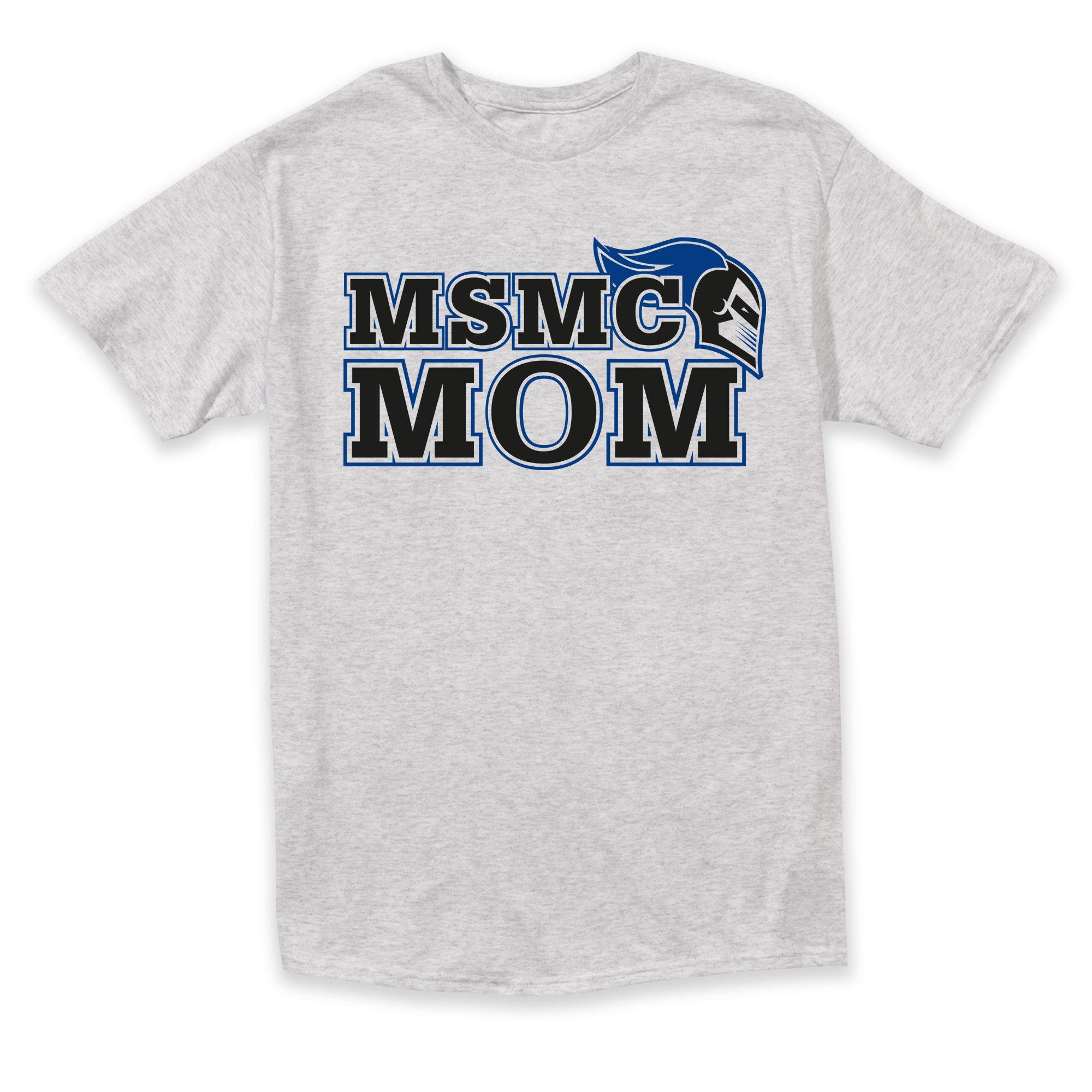 Mom Tee - Ash Grey