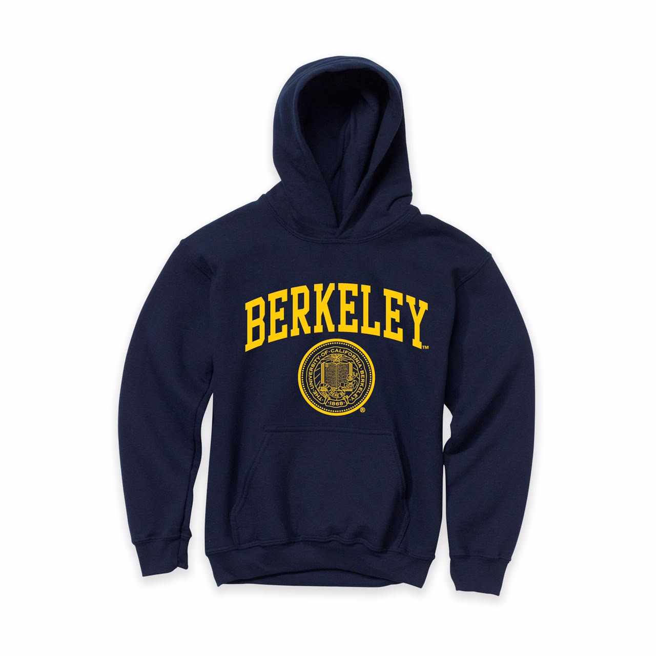University of California Berkeley Youth Pullover Hood with Seal