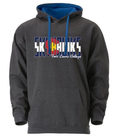 Fort Lewis College Colorado Skyhawks Hoodie