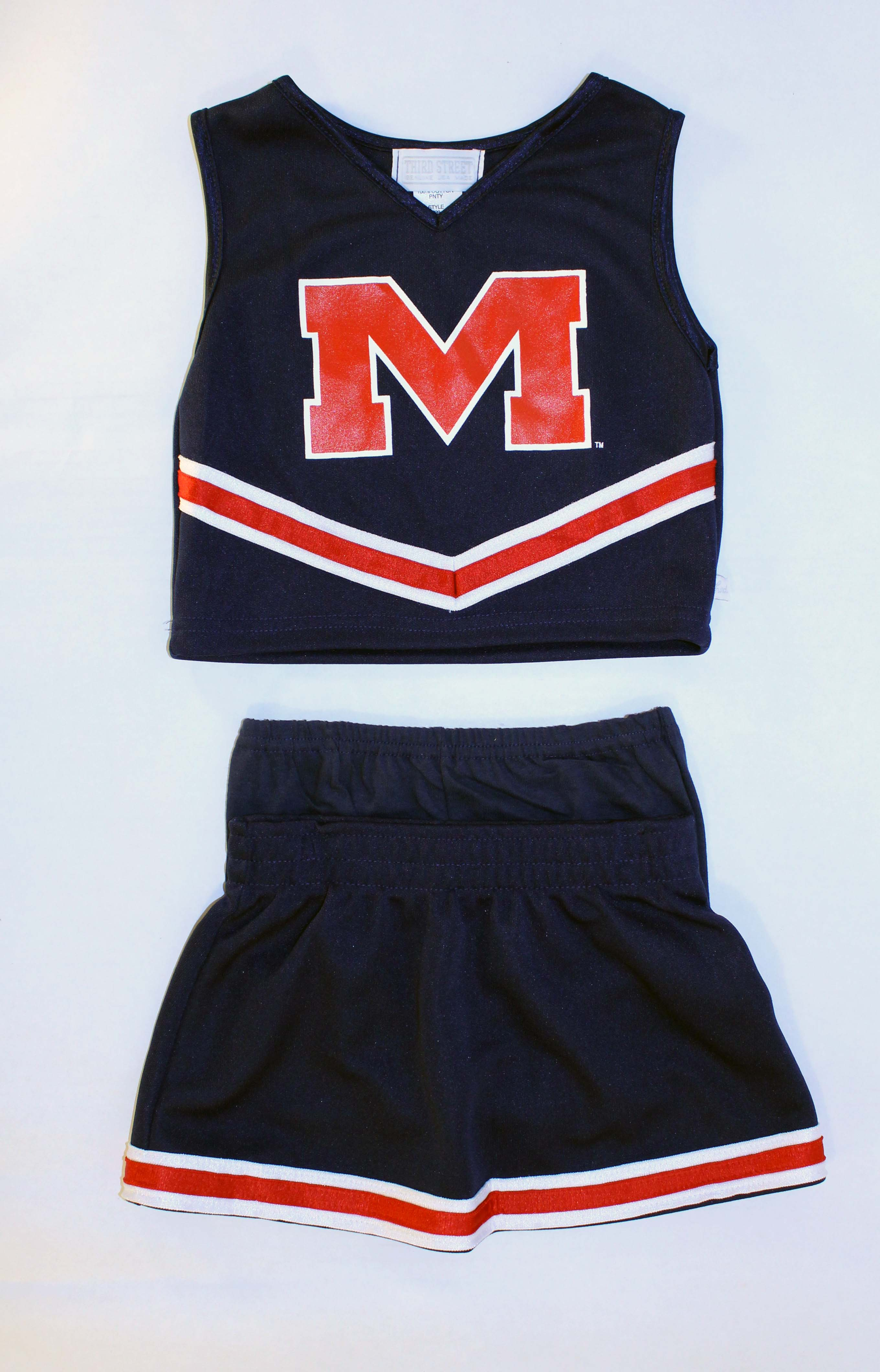 Navy Cheer Uniform