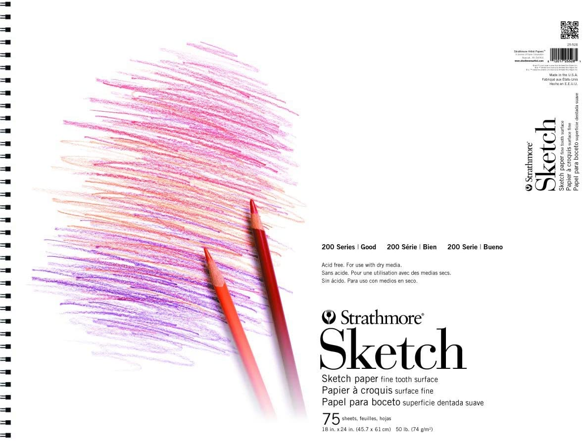 "Sketching Paper Pad (11"" X 14"")"