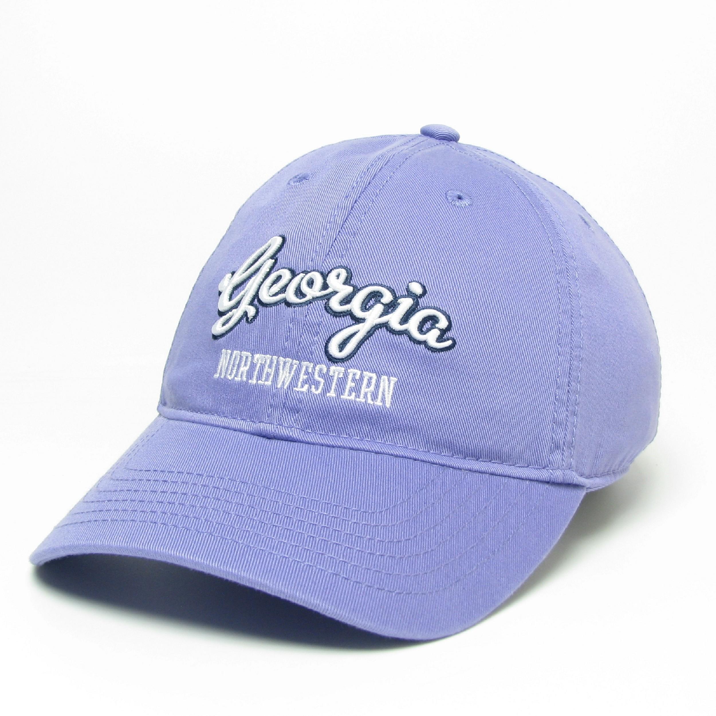 Georgia Northwestern Script Relaxed Twill Hat