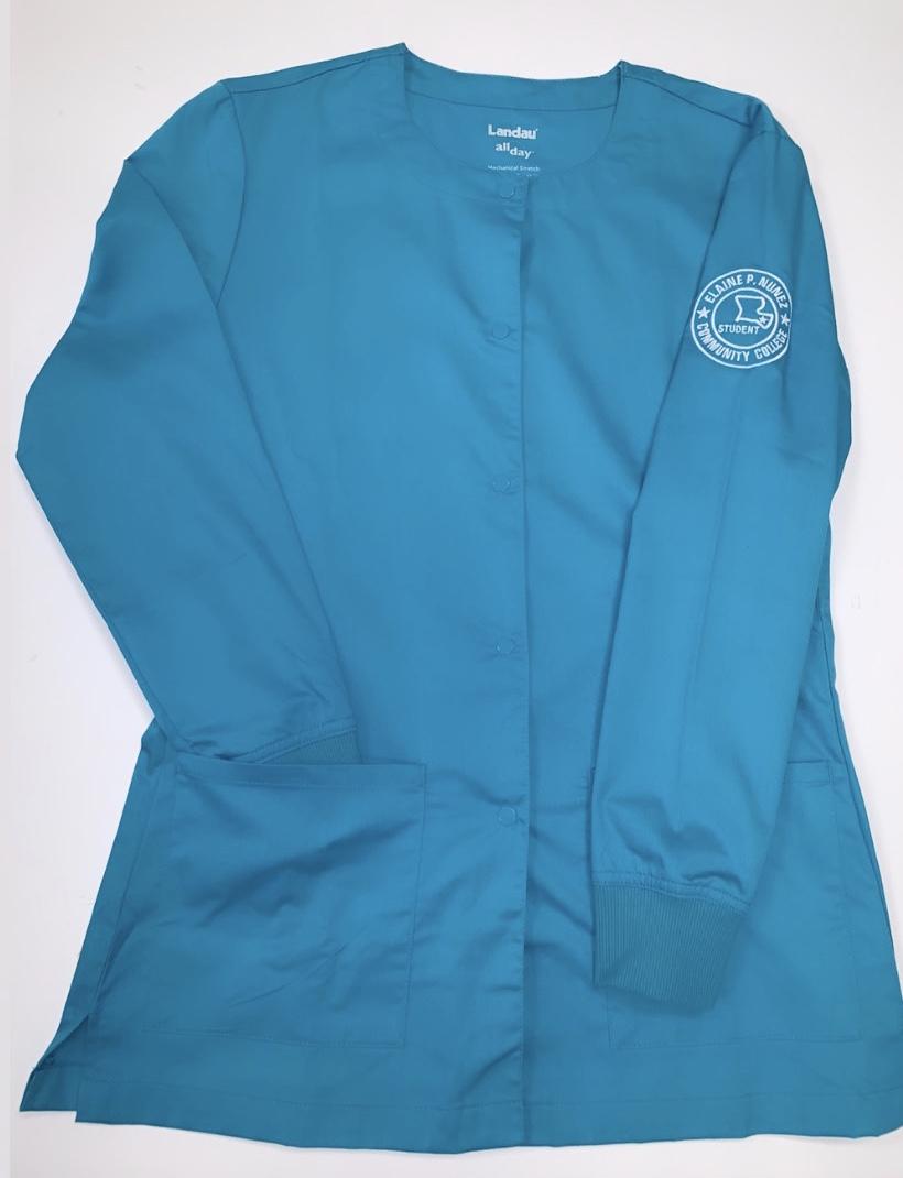 Long Sleeve Teal Jacket