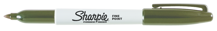 Sharpie Permanent Marker - Black Fine