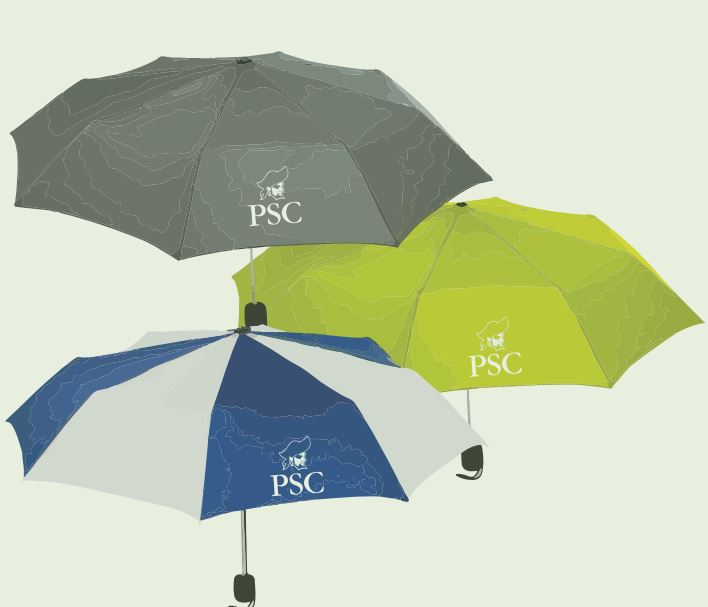PSC Pirates Compact Umbrella