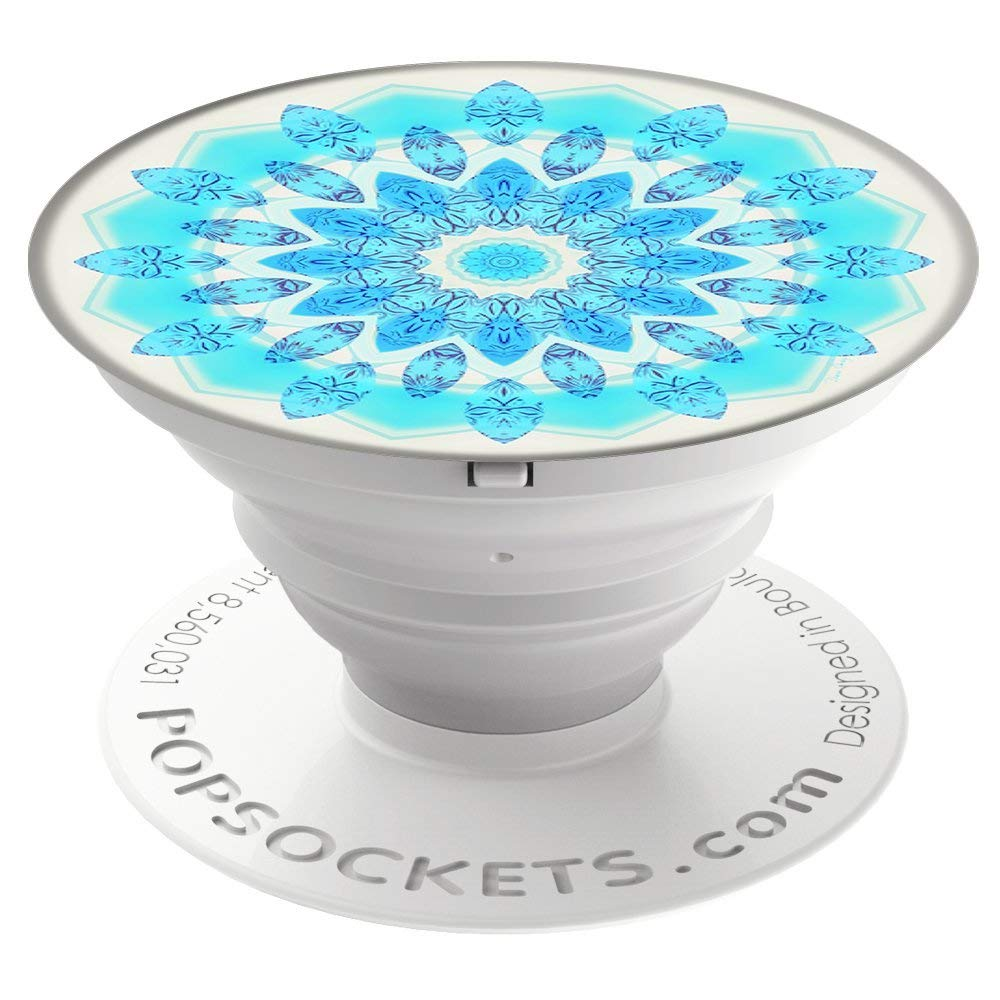 Blue Ice Star Popsocket