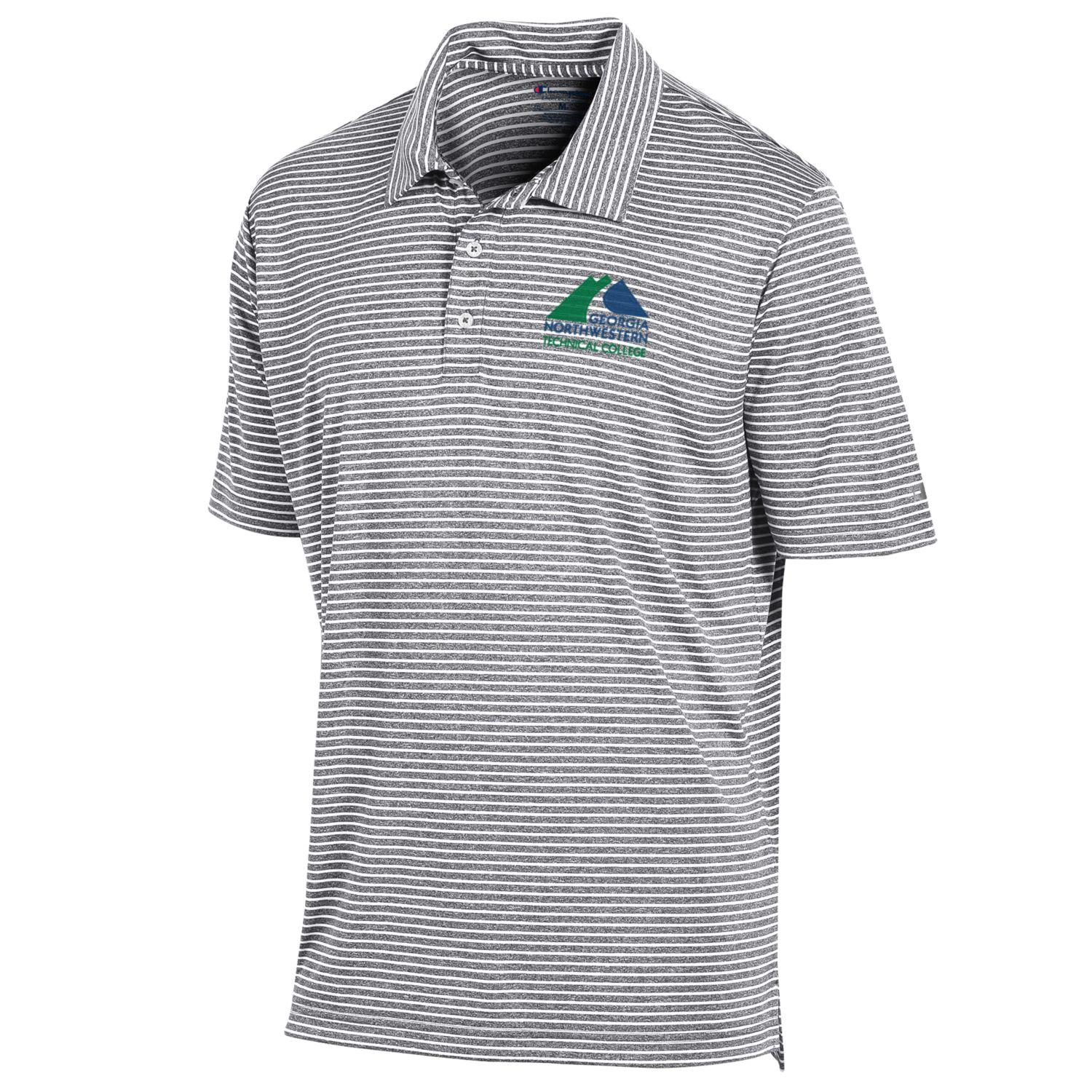 GNTC Logo Stadium Stripe Polo