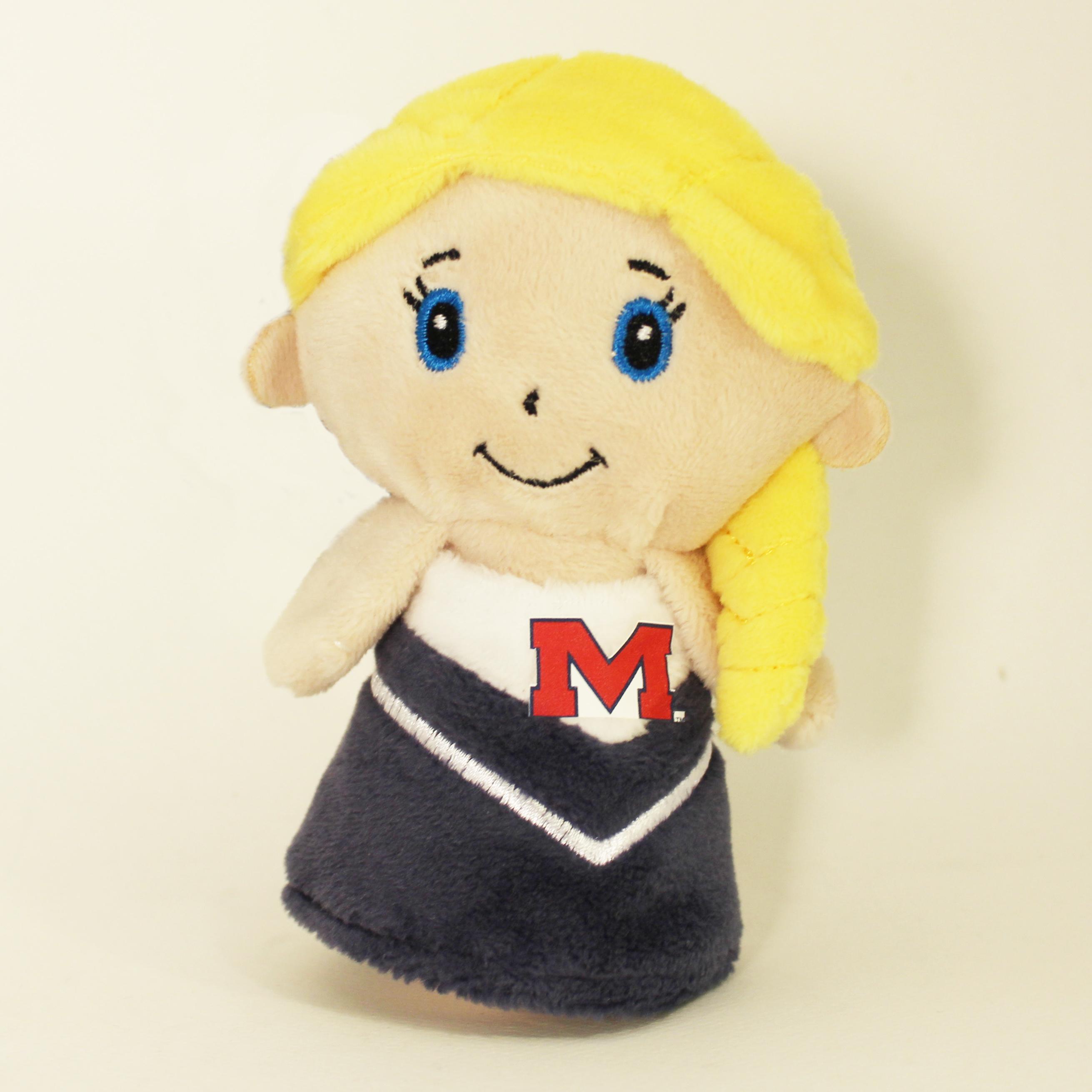 Cheerleader Tiny Tot Mini Plush
