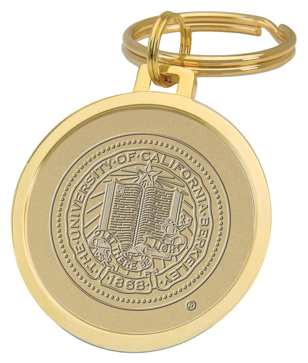 University of California Berkeley Split-Wire Key Ring