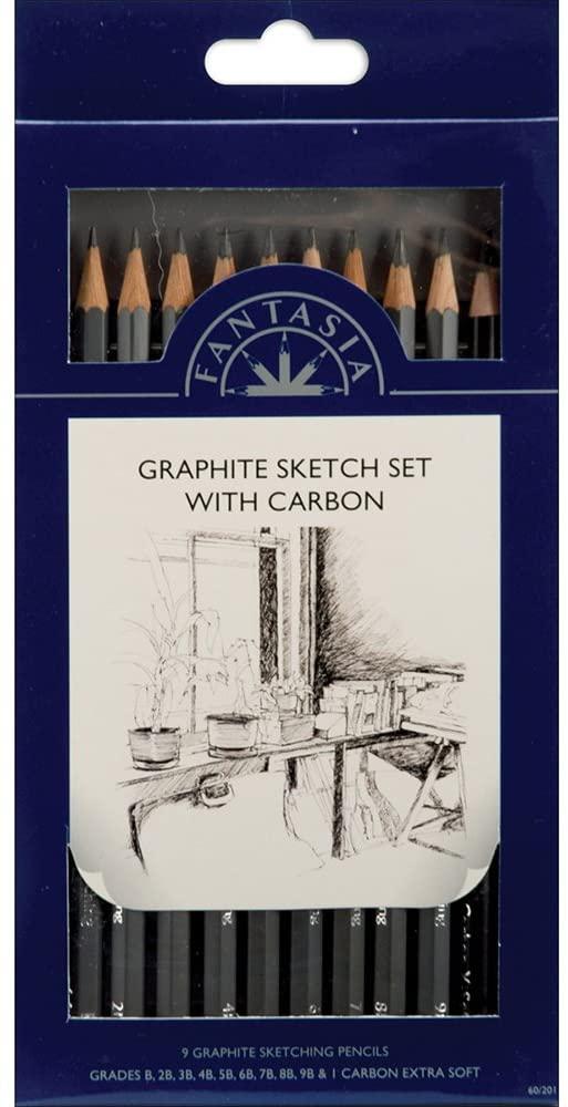 Graphite Pencil Set of 10