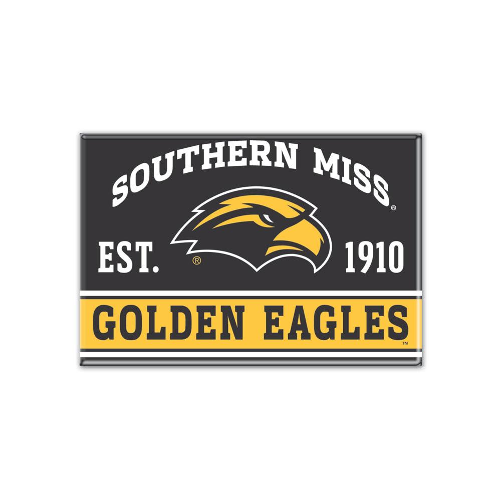 Southern Mississippi Metal Magnet